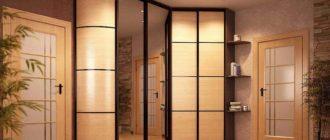 от чего зависит дизайн углового шкафа