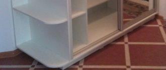 каким должно быть основание шкафа-купе