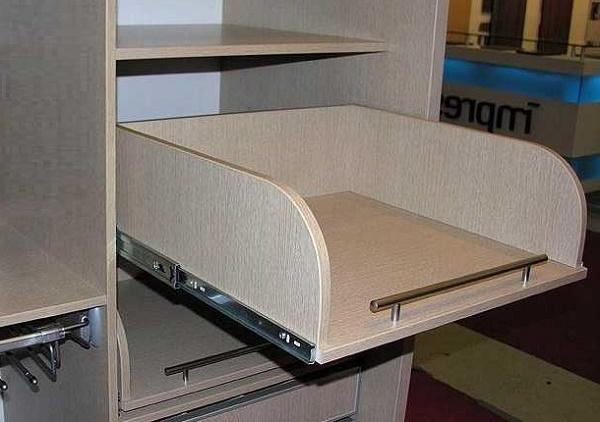 аналоги выдвижных корзин из дсп для шкафа-купе