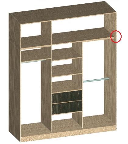 как планировать шкафа-купе под потолок без антресоли