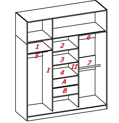 как разобрать шкаф-купе для переезда