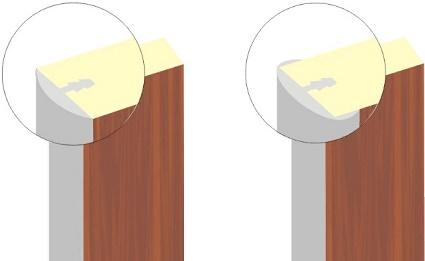 Виды врезного канта для мебели
