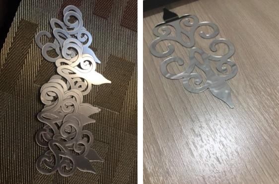 акриловые декоративные наклейки для шкафа-купе