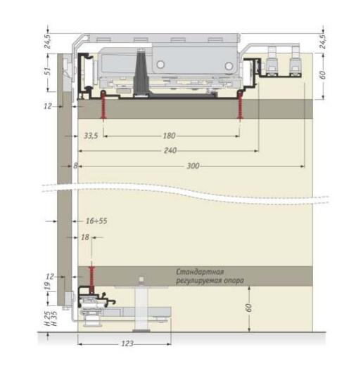 схема установки компланарной системы купе