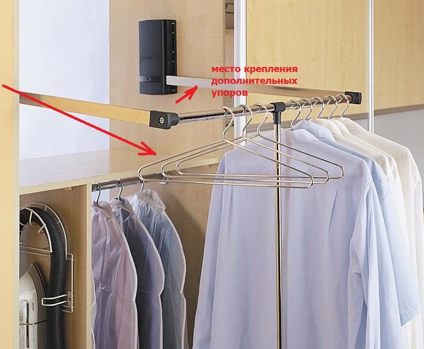 ремонт пантографа для одежды своими руками