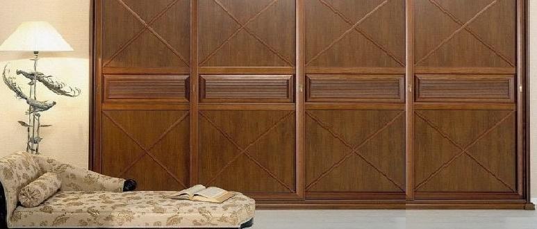 Шкаф-купе в классическом стиле: особенности оформления дизайна